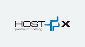 Logo oficial HostX