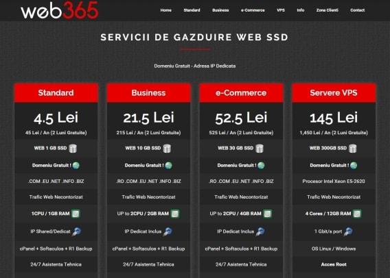 inregistrare domenii ro la web365