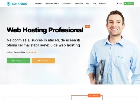 inregistrare domenii ro la namebox