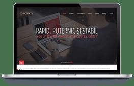 Hostico - screenshot website