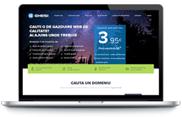 Ghesi - screenshot website