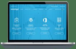 Easyhost - screenshot website