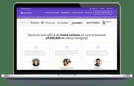Hostinger - screenshot website