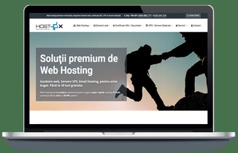 HostX  - screenshot website