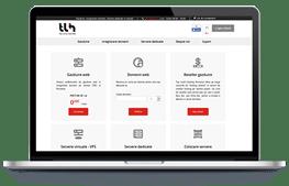 TLH - screenshot website