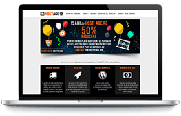 Host-Age - screenshot website