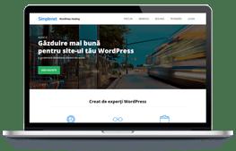 Simplenet - screenshot website